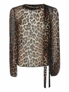 N.21 Leopard Print Blouse