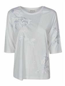 Dries Van Noten Embroidered Floral T-shirt