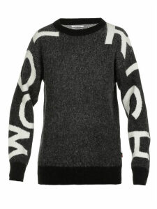 Woolrich Logo Sweater