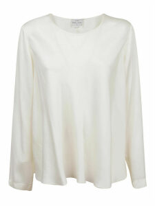Forte Forte Silk Satin Round Neck Shirt