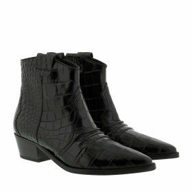 Kennel & Schmenger Boots & Booties - Eve Kroko Black - black - Boots & Booties for ladies