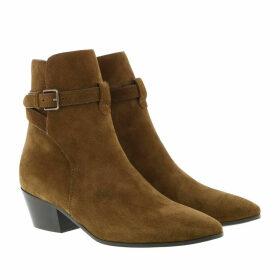 Saint Laurent Boots & Booties - West Jodhpur Boots Brown - brown - Boots & Booties for ladies