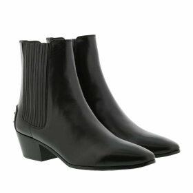 Saint Laurent Boots & Booties - Chelsea Boots Leather Black - black - Boots & Booties for ladies
