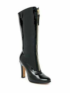 Valentino Garavani Vernice Leather Zip-Front Boots