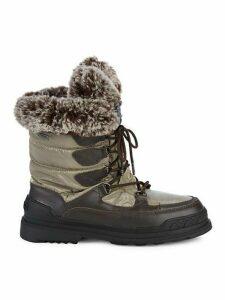 Tansy Faux Fur-Trim Boots