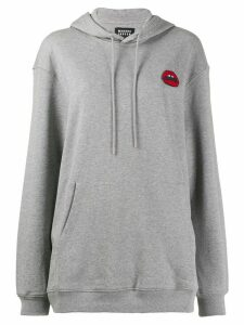 Markus Lupfer lipstick lips hoodie - Grey