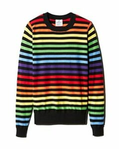 Madeleine Thompson x Aqua Rainbow-Stripe Sweater - 100% Exclusive