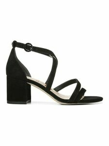 Stacie Strappy Suede Block Heel Sandals