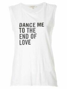 Nili Lotan Dance print tank top - White