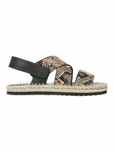 Tenison Platform Leather Sandals