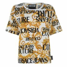 Versace Jeans Couture Versace Logo T Shirt