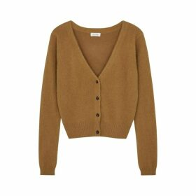 American Vintage Gogojet Brown Knitted Cardigan
