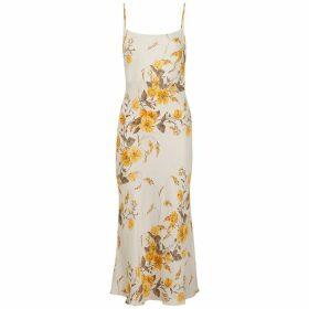 Bec & Bridge Matilde Floral-print Satin Midi Dress