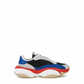 Puma Alteration Kurve Black Mesh Sneakers