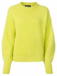 Markus Lupfer oversized long-sleeve sweater - Yellow