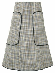 Sofie D'hoore Witch check skirt - Grey