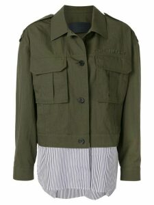 Juun.J shirt cargo jacket - Green