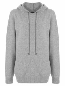 Markus Lupfer drawstring long-sleeve hoodie - Grey
