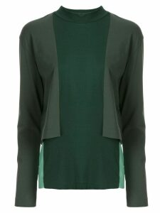 Toga panelled long sleeved top - 10