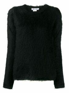 Comme Des Garçons Comme Des Garçons long-sleeve knit top - Black