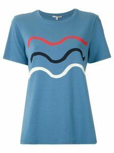 Alcaçuz Marieta printed T-shirt - Blue