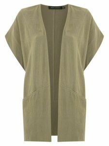 Andrea Marques short sleeved cardigan - Green