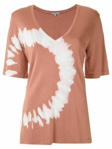 Alcaçuz Martineli tie-dye blouse - PINK