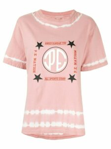 P.E Nation Co-Driver logo-printed T-shirt - PINK