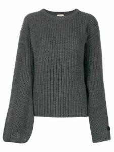 L'Autre Chose chunky knit jumper - Grey