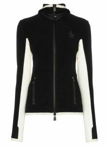 Moncler Grenoble slim fit hooded jacket - Black