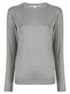 Stella McCartney crew-neck jumper - Grey
