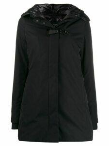 Fay single-breasted padded coat - Black