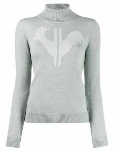Rossignol classic turtleneck jumper - Grey