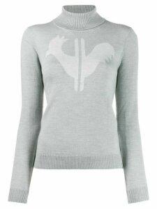 Rossignol classic turtleneck jumper - Grey