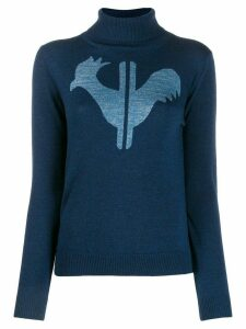 Rossignol classic turtleneck jumper - Blue