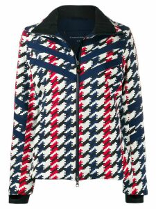 Perfect Moment houndstooth print jacket - Blue