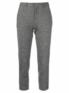 Loveless cropped tailored trousers - Grey
