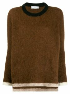 Société Anonyme Ferni soft knit jumper - Brown