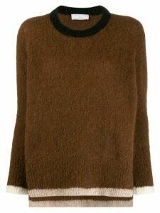 Société Anonyme Ferni soft knit jumper - Brown