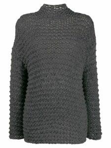 Société Anonyme Gemmi loose gauge jumper - Grey
