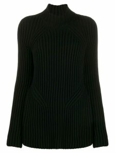 Givenchy ribbed turtle neck jumper - Black