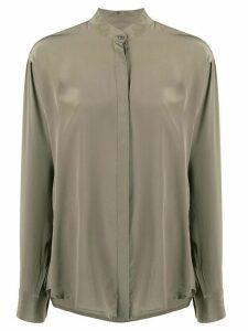 Isabel Marant mandarin collar shirt - Green