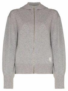 Chloé Cashmere logo hoodie - Grey
