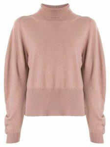 Fabiana Filippi side slit jumper - Pink