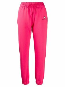 Chiara Ferragni jersey track pants - PINK