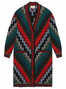 Gucci geometric pattern cardigan - Multicolour