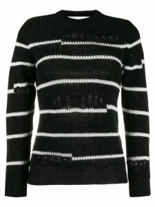IRO distressed knit jumper - Black