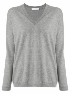 Cruciani V-neck sweater - Grey