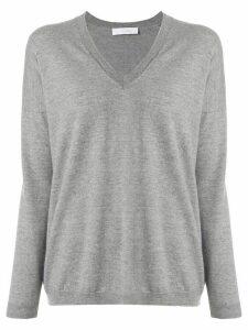 Cruciani V-neck sweater - Grey