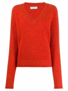 Société Anonyme Leen loose fit jumper - ORANGE